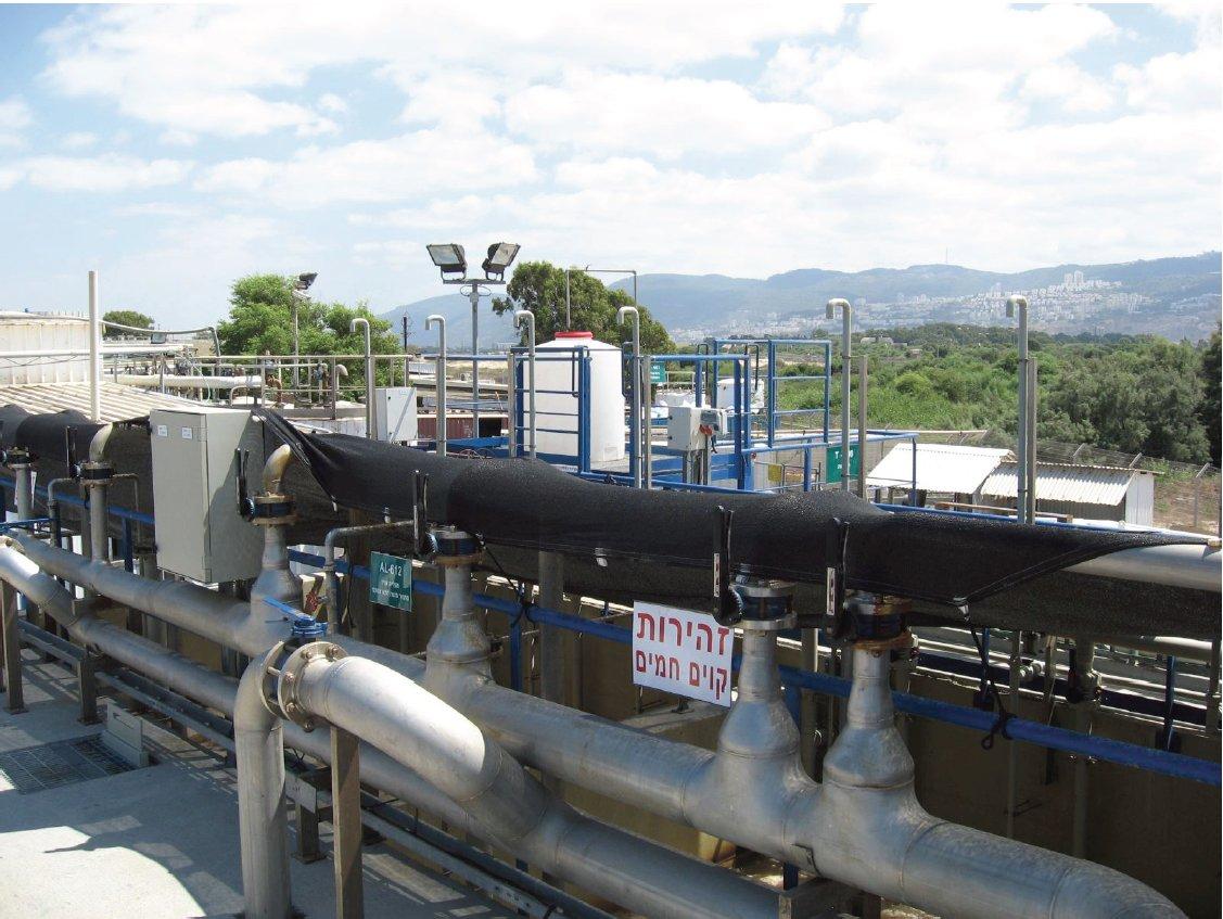 מפעל יוניליוור - טיפול בשפכים בתעשייה